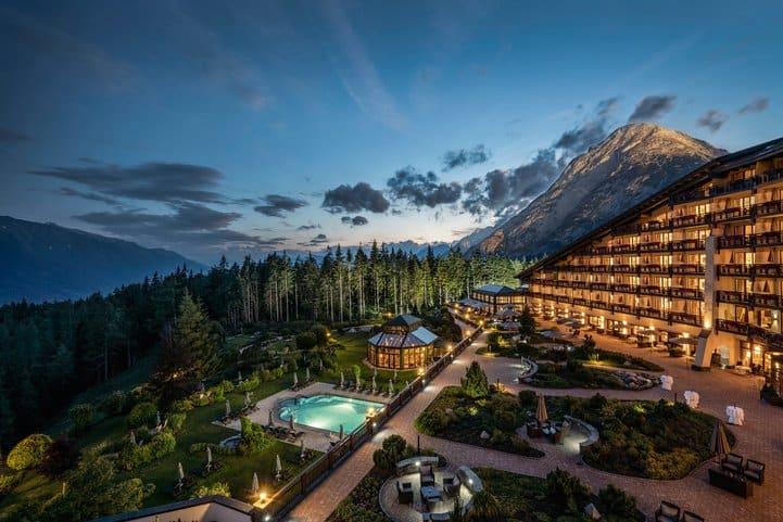 Das Interalpen-Hotel Tyrol in Telfs-Buchen modernisiert