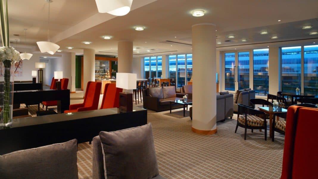 Exklusive Club-Lounge im Sheraton Frankfurt Airport Hotel