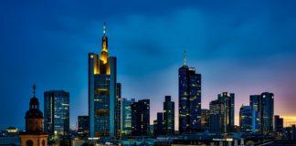 Frankfurter Wolkenkratzer prägen die eindruckvollste Skyline Europas