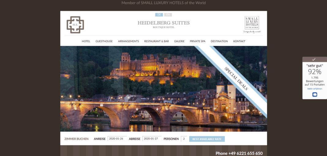 Tagungen und Erlebnisse im Boutique Hotel Heidelberg Suites
