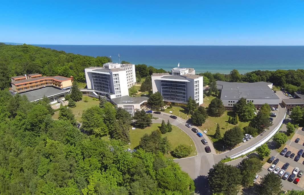 Tagungen auf der Insel Rügen I Das Cliff-Hotel Rügen
