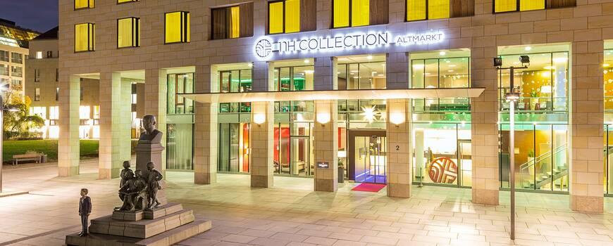 Das Hotel NH Collection Dresden Altmarkt