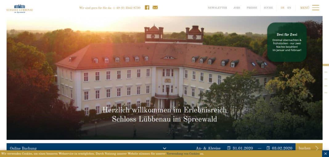 Tagen auf Schloss Lübbenau im Spreewald leicht gemacht