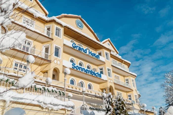 Tagungen und Meetings im Grand Hotel Sonnenbichl