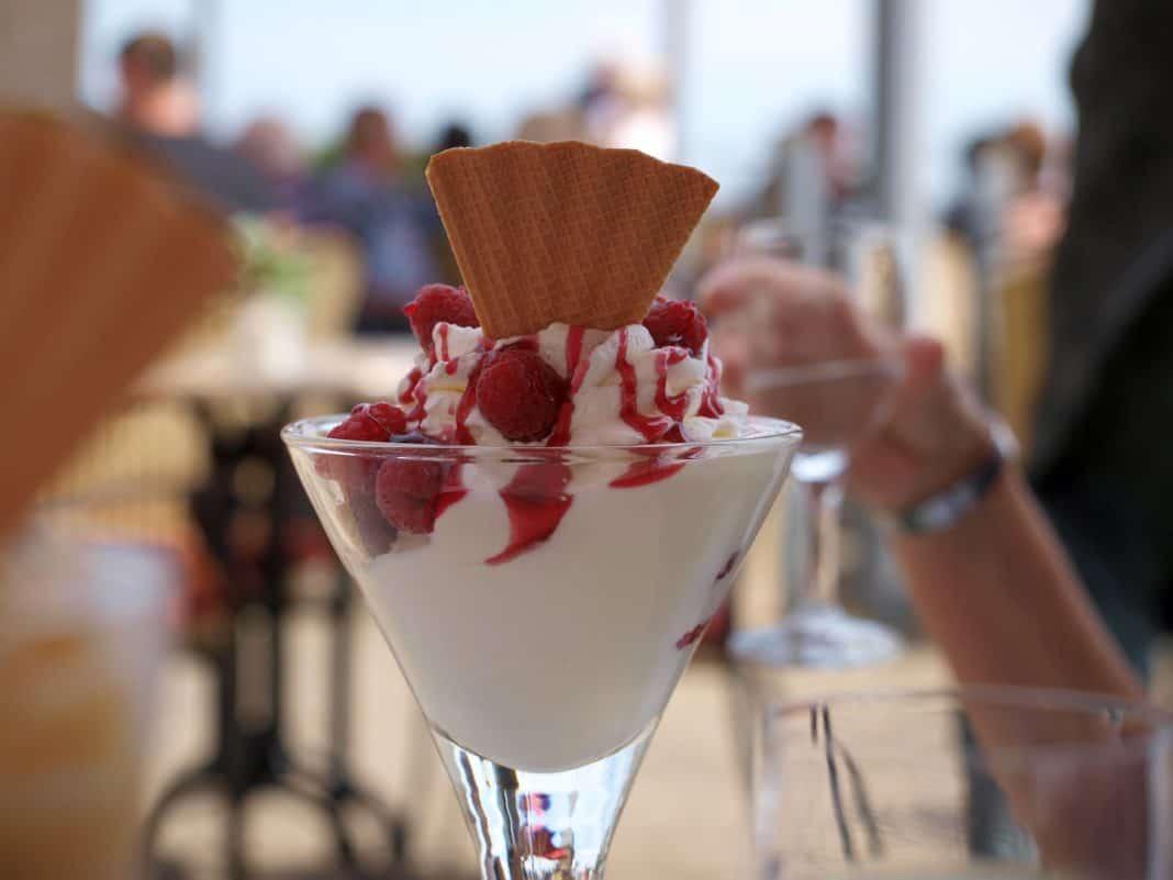 Eisdiele und Kaffeehaus Eiscafé Augusta in Augsburg
