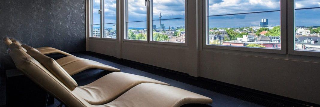 Präsidentensuite und neuer Fitnessbereich im Grandhotel Hessischer Hof