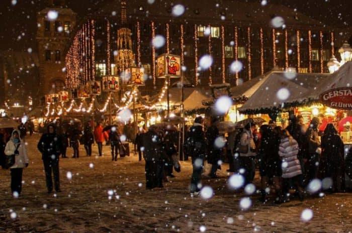 Es wird weihnachtlich auf Bremer Weihnachtsmarkt