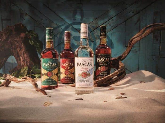Relaunch der Old Pascas 'Caribbean Island Rum' Range