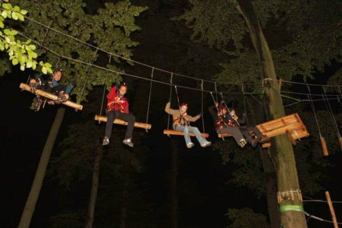 Teamevents in traumhafter Umgebung mit unseren Partnern dem Kletterwald Ilsenburg oder dem SKYROPE Hochseilgarten in Bad Harzburg sind definitiv nachhaltig.
