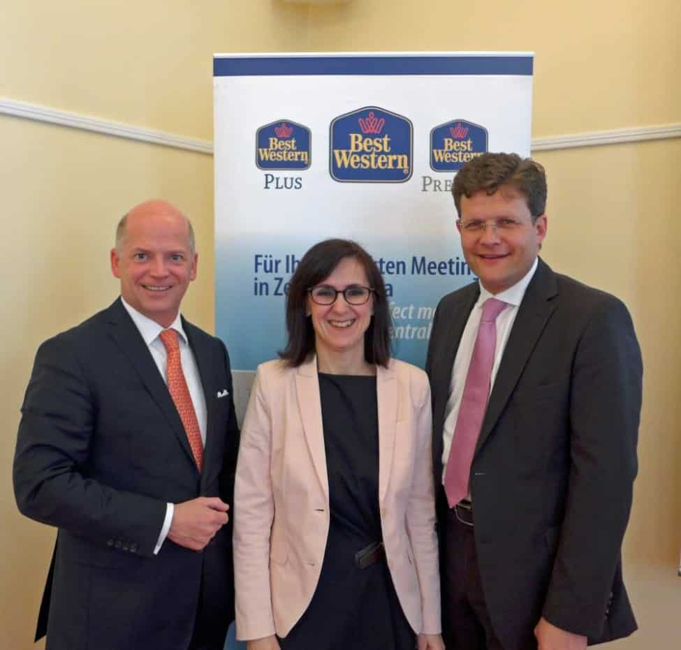 Aus Best Western Hotels Deutschland wird Best Western Hotels Central Europe