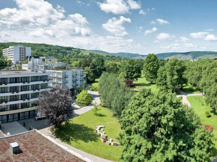 Außenansicht Dorint Parkhotel Bad Neuenahr