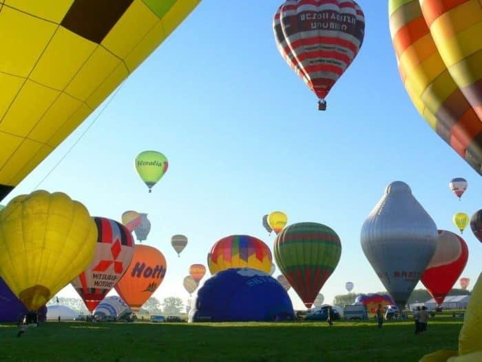 Das ganze Jahr über haben Florida-Reisende die Möglichkeit, mit einem Heißluftballon in die Lüfte zu steigen.