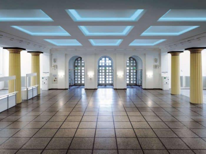 Neues LED-Beleuchtungssystem im Kongress Palais Kassel
