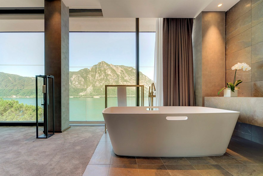 Luxuri ses boutique hotel am luganersee for Design boutique hotels waldeck hessen