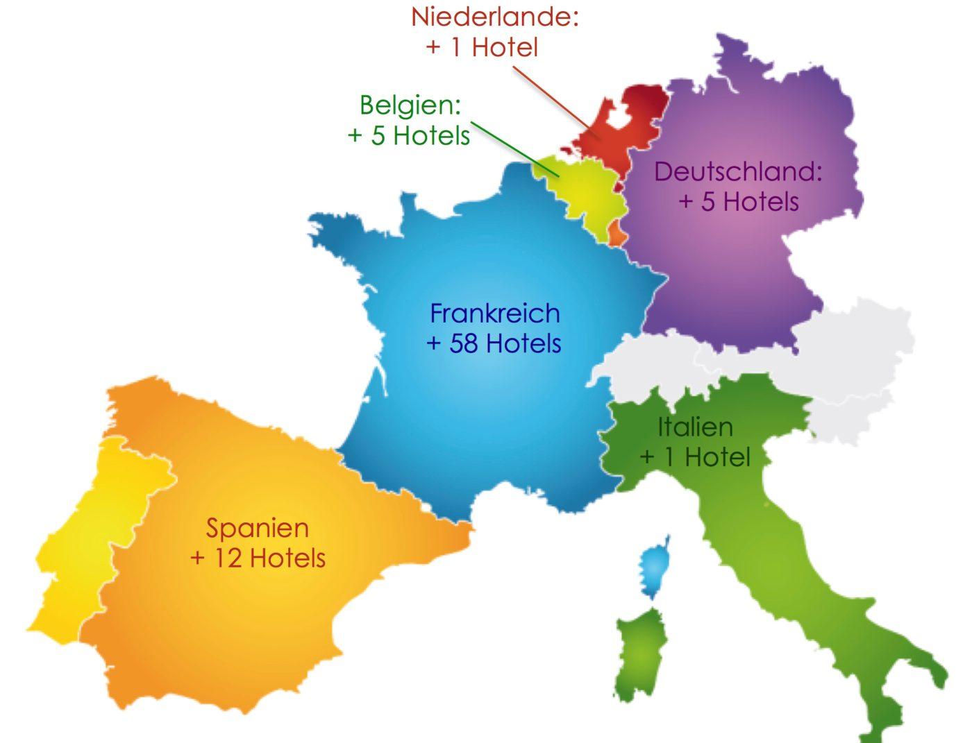 """In Sachsen gibt es mit dem Logis-Hotel """"Landhotel Rosenschänke"""" in Kreischa bei Dresden (drei Kamine, drei Töpfe) und dem Logis-Hotel """"Zum Kranichsee"""" in Eibenstock (zwei Kamine, zwei Töpfe) zwei neue Häuser."""