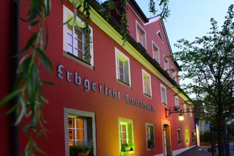 Die Heirats-Location: Wilthener Landidyll-Hotel Erbgericht Tautewalde
