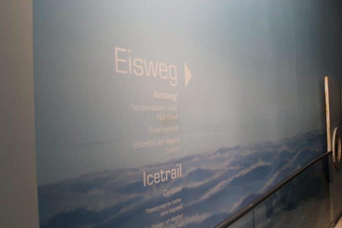 Eisweg Klimahaus Bremerhaven