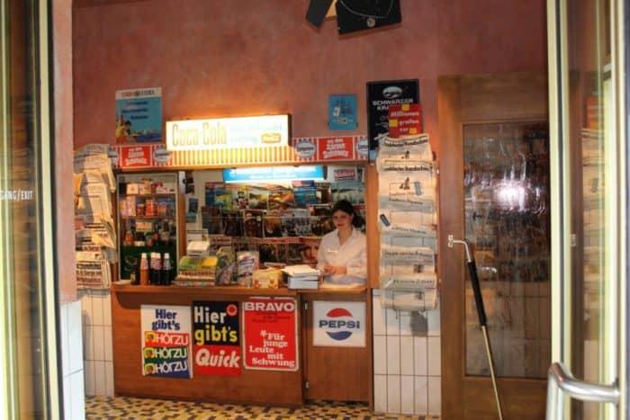 Bremerhaven Auswandererhaus historischer Kiosk