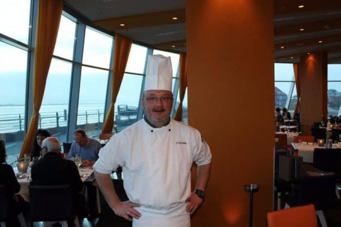 Dominik Flettner, Küchenchef im Atlantic Hotel Bremerhaven
