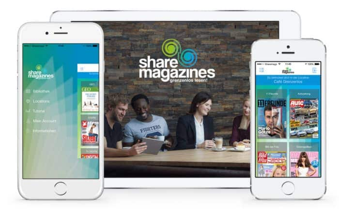Sharemagazines, der digitale Lesezirkel