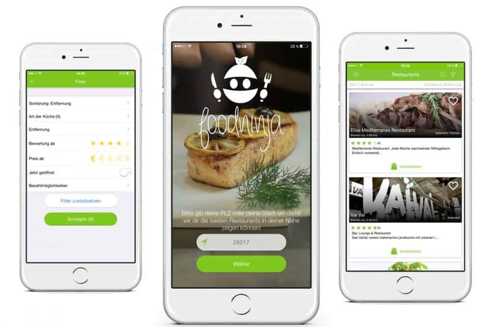 Foodninja neues Startup