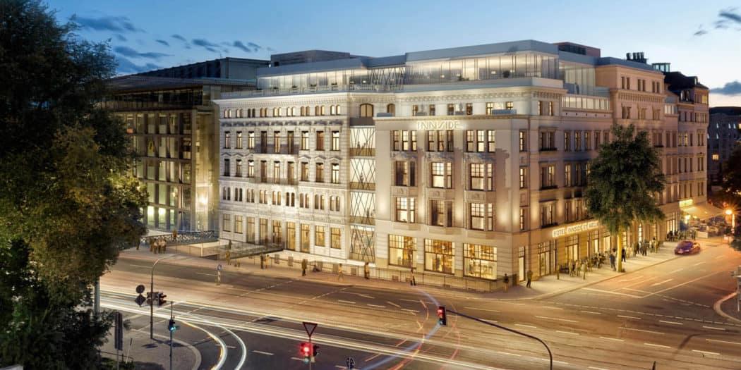 In bester City-Lage am Dittrichring Ecke Szenemeile Gottschedstraße entsteht ein Vier-Sterne- Superior-Hotel mit 177 Zimmern und Suiten.