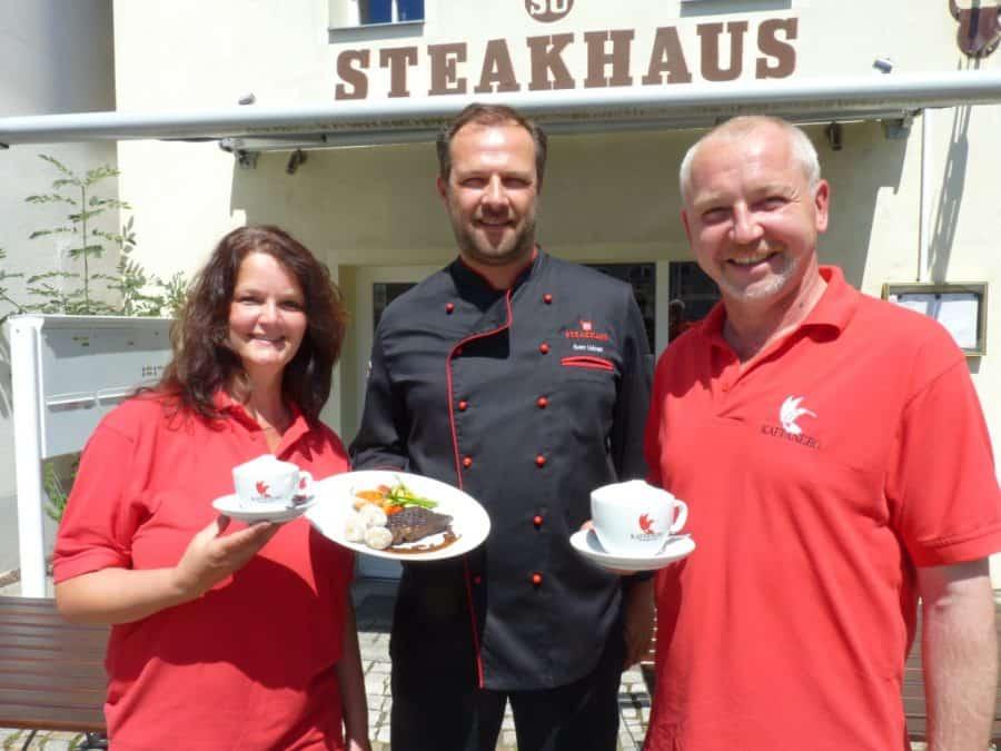 3-Gänge-Steak-Menü mal anders aus Dresdner Kaffee