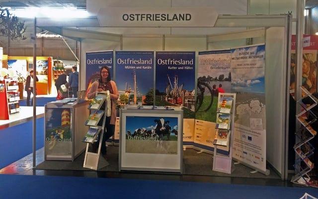 Ferien-Messe Wien Österreich trifft auf Ostfriesland