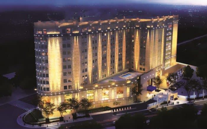 Steigenberger Hotel El Tahrir in Cairo exterior