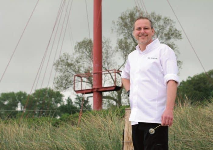 Der gebürtige Badener Christian Scharrer zählt seit vielen Jahren zu den besten Köchen Deutschlands.
