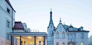 Das Dorint Parkhotel Meißen, in direkter Lage an der Elbe gegenüber von Albrechtsburg und Meißner Dom