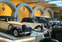 August Horch Museum Zwickau - Blick in Haupthalle