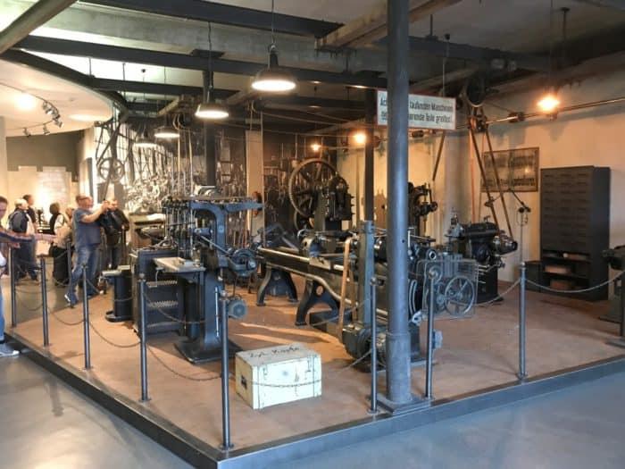Nachbau Pruduktionshalle Horch Museum Zwickau