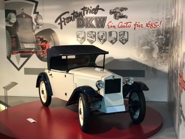Horch Museum Zwickau DKW Fahrzeug