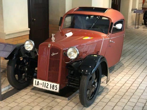 Horch Museum Zwickau Historische Strassenszene