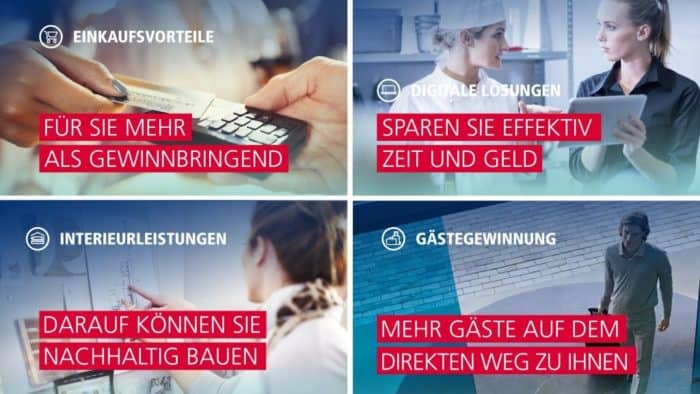 """Auf den Messen Intergastra und Internorga zeigt HGK, wie Hoteliers und Gastronomen mit """"HGK-Order"""" Bestellungen schneller, einfacher und übersichtlicher abwickeln können."""