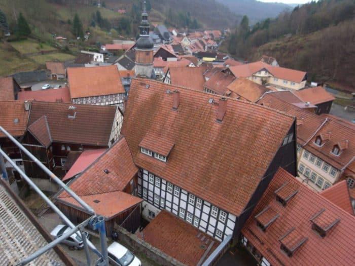 Baugeschichte der Ev. Stadtkirche St. Martini Stolberg im Südharz