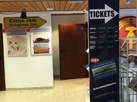 Eintritt zur Ausstellung, Grenzlandmuseum Bad Sachsa