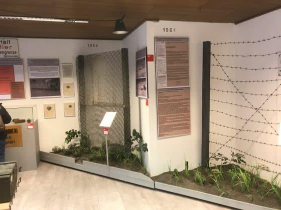 Entwicklung DDR-Grenzzaun, Grenzlandmuseum Bad Sachsa