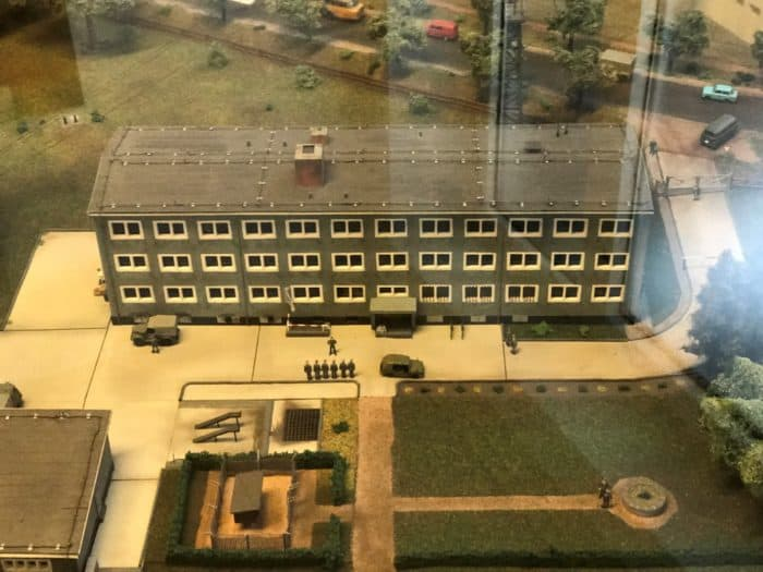 Modell einer NVA Kaserne, Grenzlandmuseum Bad Sachsa
