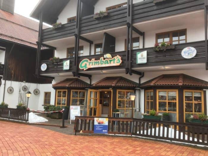 Außenansicht Restaurant Grimbart's