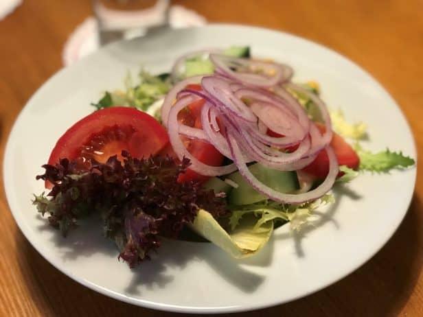 Braunlage Vorspeisensalat im Restaurant Grimbart's