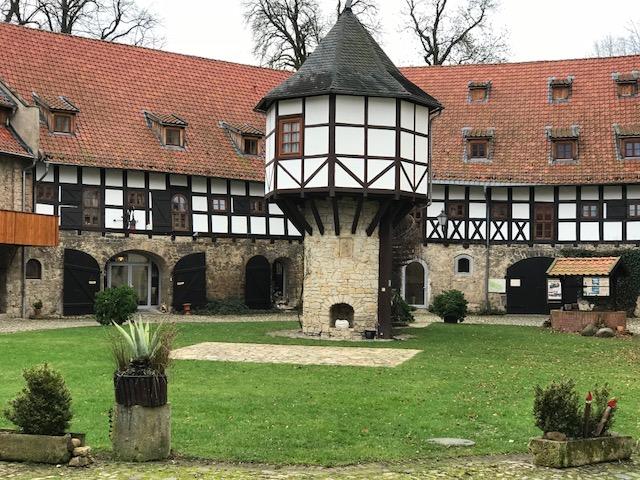 Innenhof Wasserschloss Westerburg