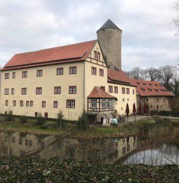 Wassergraben Wasserschloss Westerburg