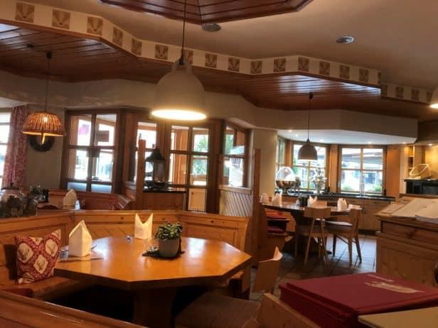 Restaurant Grimbart's Innenansicht
