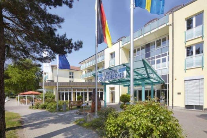Wellness & Spa-Bereich des Dorint Seehotel Binz-Therme Binz/Rügen