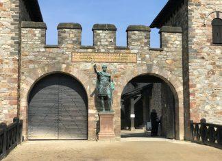 Haupteingang Römerkastell Saalburg