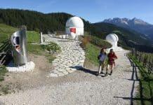 Im Südtiroler Eggental sind die Sterne zum Greifen nah.