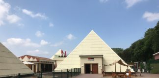 Sauerland-Pyramiden Eingang Galileo-Park Lennestadt