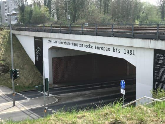 Steilste Eisenbahn-Hauptstrecke Europas 1981